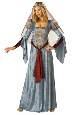 Brand New Deluxe Maid Marian Renaissance Medieval Adult Halloween Costume