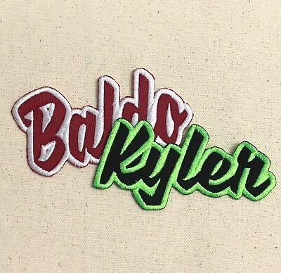 Custom Names 2x4 - Color Choice - Words (Iron On Embroidered Applique Patch)