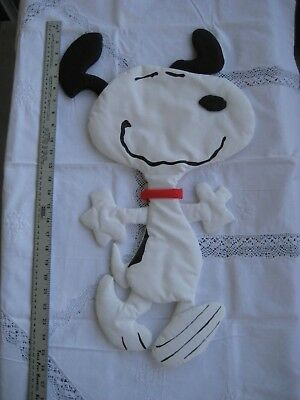 "Peanuts Quilted Wall Hanging 24"" "" Dancing Snoopy"" by Silgo 1992"