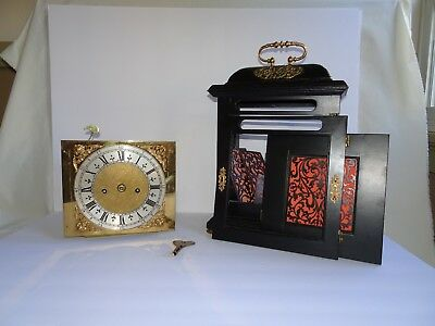 Antique Fusee Clock Thomas Johnson London Beautiful Assembly Required