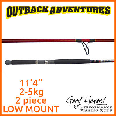 Gary Howard Club Special 11'4'' Fishing Rod 11Ft4 2-5Kg 2 Piece Low Mount