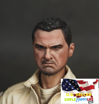 """1//6 Scale Famous Movie Character Men Head Sculpt For 12/"""" Male Body Figure Toys"""