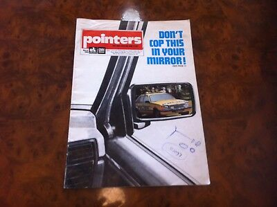 HOLDEN GMH 'POINTERS' Dealers Magazine Rare Vintage GENUINE Advertising