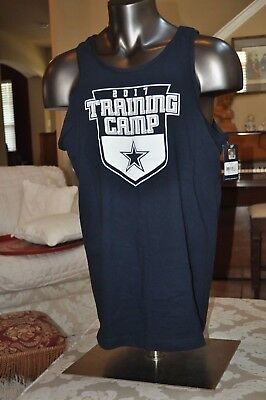 Dallas Cowboys STAR NFL Training camp Navy Tank Top Multi Sizes New with  Tags 0f7a04b58