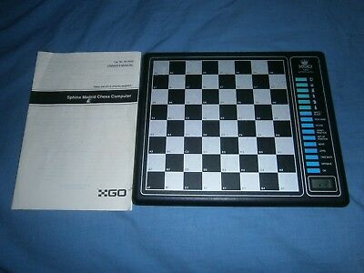 Go Sphinx Madrid Chess Computer Board Rare Vintage Cat No: 60-2426- Free Postage