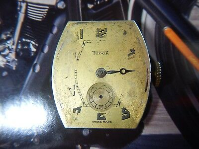 TUDOR 59 Movement Hands and Shield Shape Dial Vintage 1940's