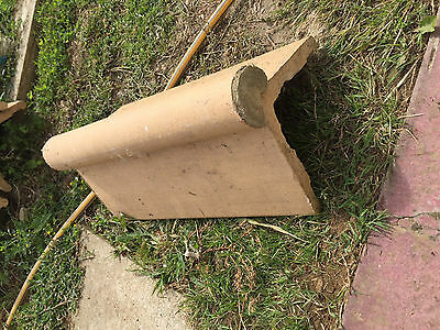 Reclaimed Roll Top Ridge Tiles - Victorian Style - 15 in total - job lot