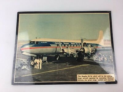 AIRLINES - PICTURE - PHOTO - OF DOUGLAS D.C.A. OPERATED BY ANA - 22 X 16cm