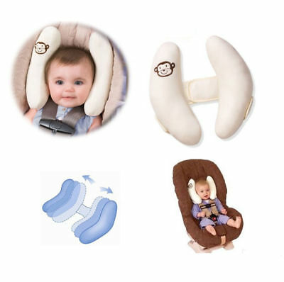 Baby kids Toddler Car Seat Headrest Cushion Travel Pillow Head Neck Support 1PC