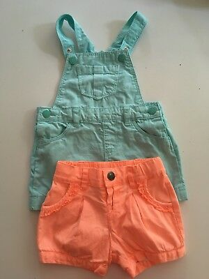 Baby Girls Size 0 Summer Clothes