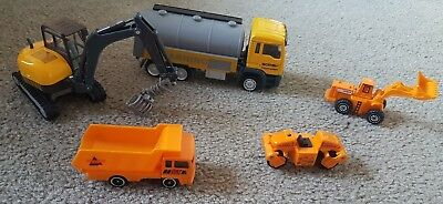 Construction toy vehicles die cast