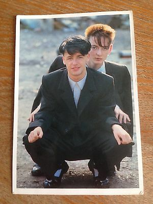 Rare Signed Lotus Eaters Postcard 14 Dec 83 Peter Coyle/Jeremy Kelly Wild Swans