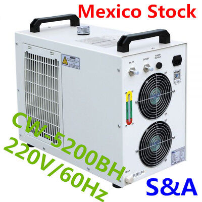 S&A CW-5200BH Industrial Water Chiller for /One 130-150W CO2 Laser Tube 220V