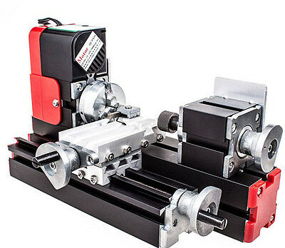 DIY Mini Lathe Wood Metal Motorized Machine 20000rev/m Woodworking Hobby Tool ##