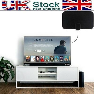 UK Mini Antenna TVFox HD High Definition Free TV Fox HDTV DTV VHF Scout Style SN