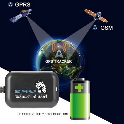 Mini Car Motorcycle GPS GSM GPRS Tracking SMS Real Time Monitor Tracker Welcome