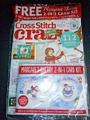 Cross Stitch Crazy Magazine December 2017 With Free Gift (new)