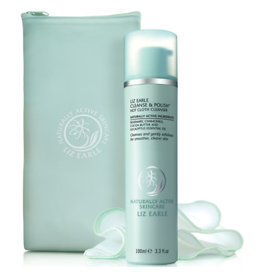 LIZ EARLE CLEANSE & POLISH HOT CLOTH CLEANSER. 200ml. Naturally Active