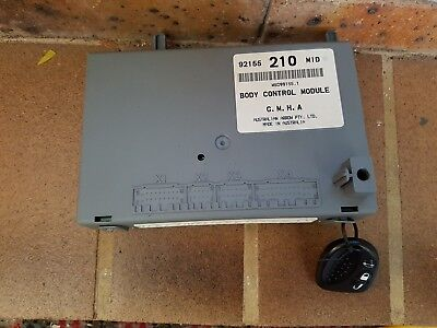 VY SS commodore Body Control Module BCM 210 MID and Key fob s