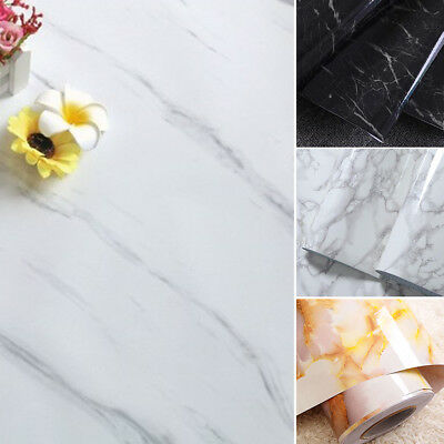 Granite Marble Wall Paper Self-Adhesive Sticker Roll PVC Paper Home Decoration