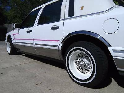 1997 Lincoln Town Car  1997 LINCOLN TOWN CAR-COACH-ROOF-FLA.CAR-GARAGED-97K-CUSTOM-PAINT-DAYTON RIMS