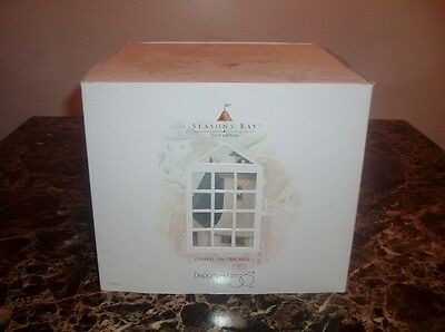 """Department 56 """"Seasons Bay"""" """"Chapel on the Hill"""" 1st Edition"""