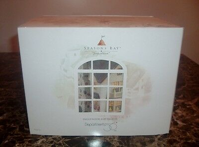 """Department 56 """"Seasons Bay"""" """"Inglenook Cottage"""" First Edition"""