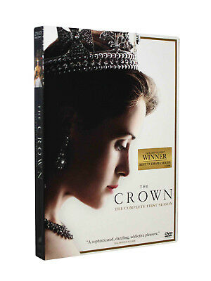 The Crown Season 1 (DVD, 2017, 4-Disc Set) Brand New Sealed