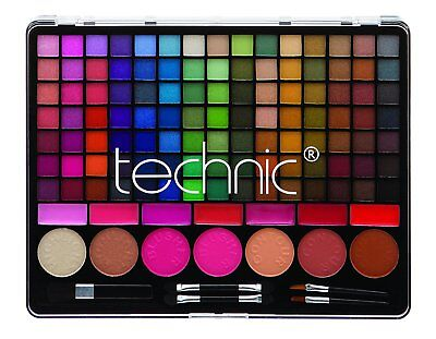 Technic WOW Factor 124 Face & Eye Shadow Palette Make-up Sets