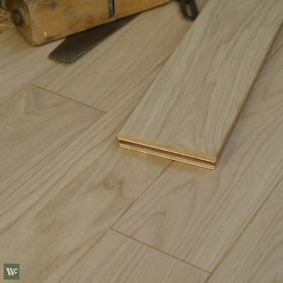 Engineered Constructual Prime Oak Flooring 120mm wide strip Smooth Sanded EAH3S
