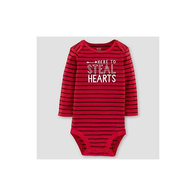 Baby Boys' Here to Steal Hearts Long Sleeve Bodysuit - Just One You™ Mad...