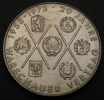 GERMANY (DDR) 10 Mark 1975 A - Copper/Nickel - Warsaw Pact - XF - 256