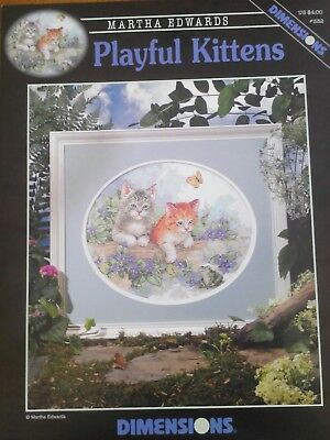 Dimensions cross stitch pattern cats kittens