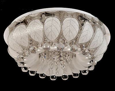 * Modern Simple D60CM * H25CM Glass Stainless Steel Ceiling Lights/Chandelier