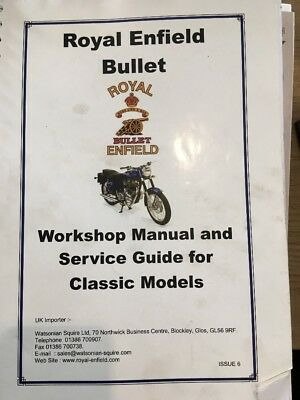 A Royal Enfield Bullet Workshop Manual And Service Guide