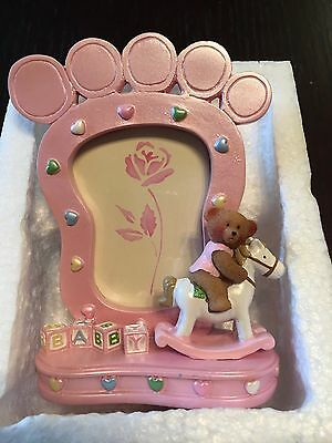 """"""" Brand New """" Baby Footprint Picture Frame """""""