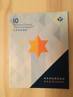 """""""Recalled """"2017 Canada Hanukkah stamps booklets very rare!!"""