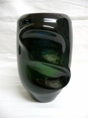 J. Beranek Art Glass Vase for Skrdlovice Glassworks, c.1950's.