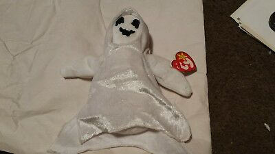 1999 TY Beanie Baby Sheets the Halloween Ghost w Tags