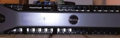 Dell PowerVault MD1220 SAS 6G DAS Array Includes 12 x 600GB H/Drives