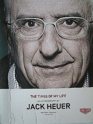 Autobiografie: JACK HEUER: THE TIMES OF MY LIFE special edition - 150 x  limit.