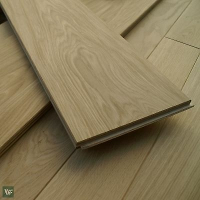 "Over 8"" Wide Engineered Prime Oak Flooring - High Quality Ply Base - ECH2P"