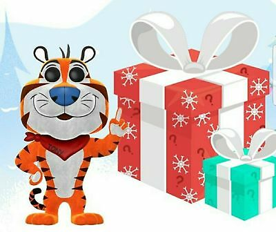 Funko POP! Tony the Tiger Flocked 12 Days of Christmas#08 2000 Stock Photo Only