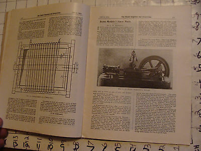 The Model Engineer and Electrician: JUNE 9, 1904 issue; SCARCE MAG