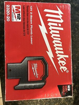 Milwaukee 12V 2-Beam Plumb Laser