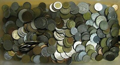 Bulk/Lot: 4 Pounds World/Foreign Coin Collection - No Reserve