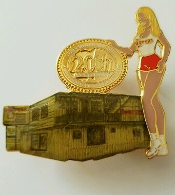 Hooters 20th Anniversary pin from the Original Hooters