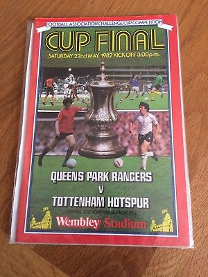 1982 FA Cup Final Programme