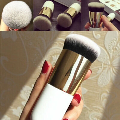 Large Soft Kabuki Powder Big Blush Flame Brush Foundation Make Up Tool Cosmetic