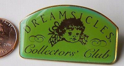 Rare Dreamsicles Collectors Club Pin Pinback Enamel Badge made in USA